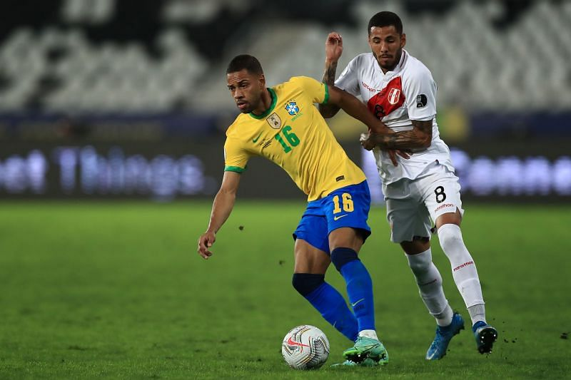 Renan Lodi's high work rate proved effective for Brazil.