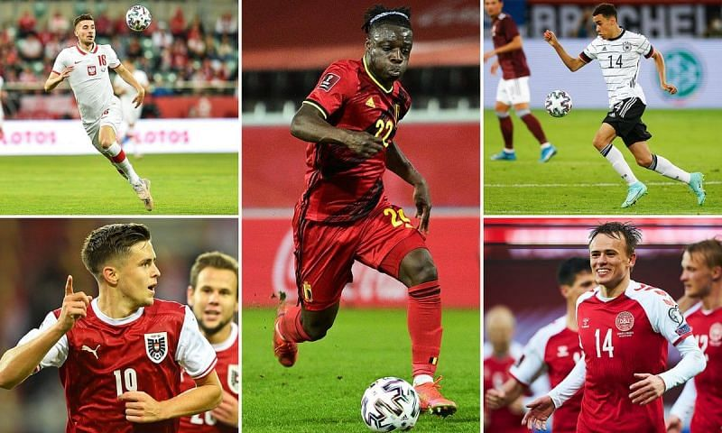 Many bright and precocious young talents lit up Euro 2020 with eye-catching performances.