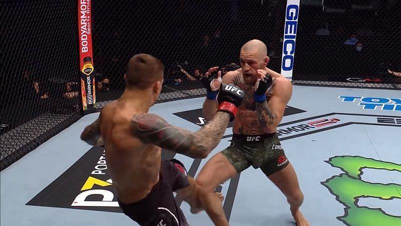 UFC 264: Dan Hardy on Dustin Poirier's calf kicks