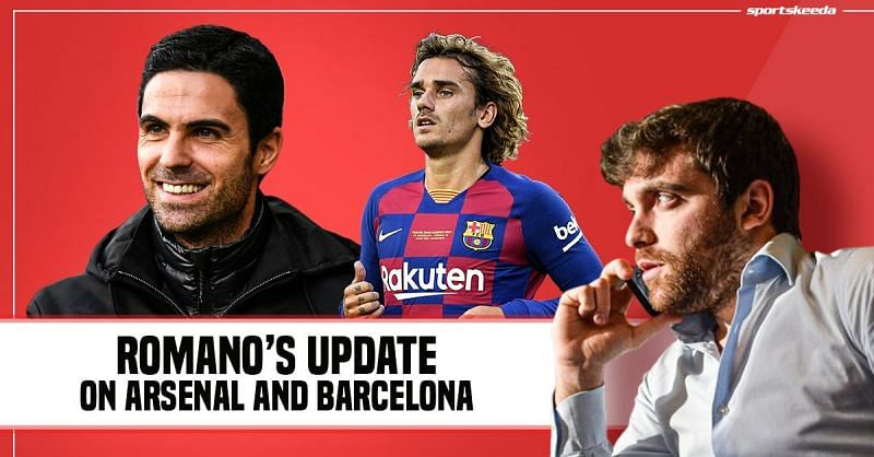 Arsenal and Barcelona have an interesting few days coming up in the transfer market