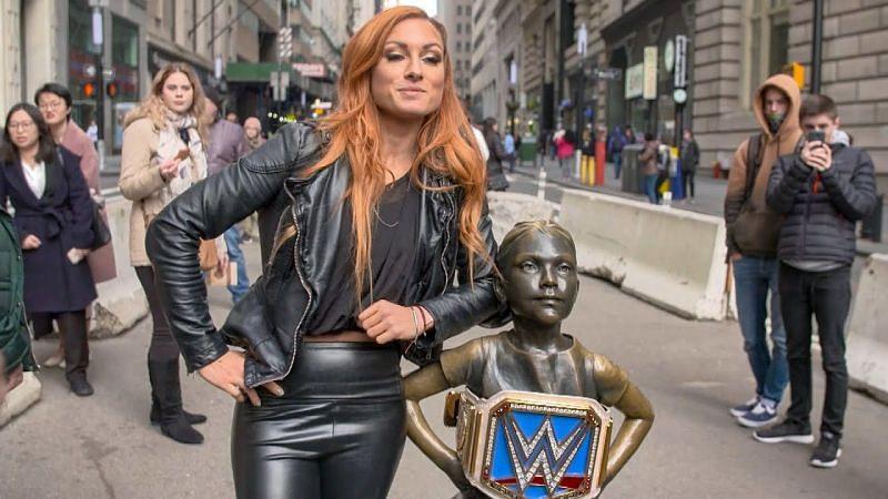 Former SmackDown Champion Becky Lynch