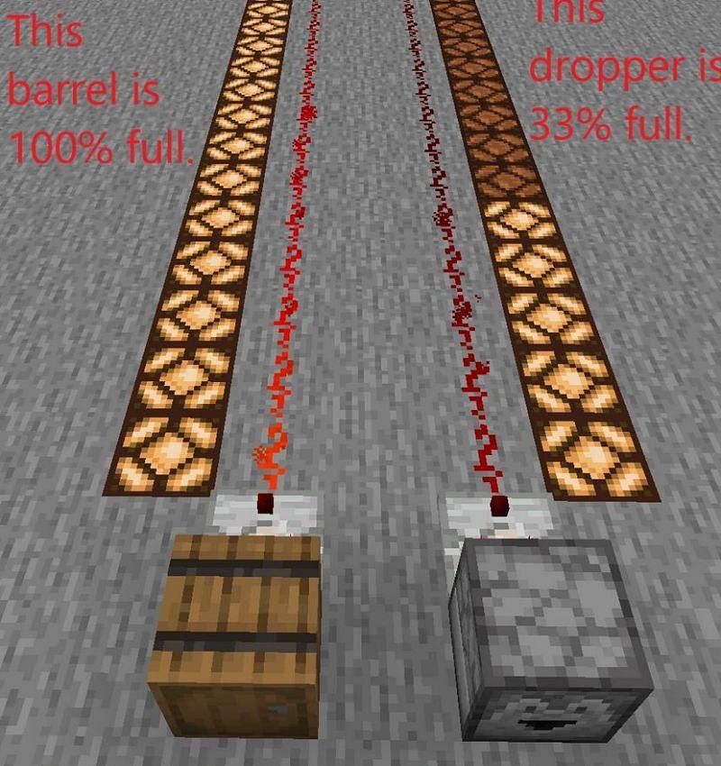 An image showcasing how comparators work (Image via minecraft.fandom)