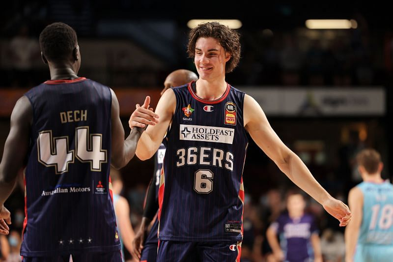 Josh Giddey #6 in action for the Adelaide 36ers