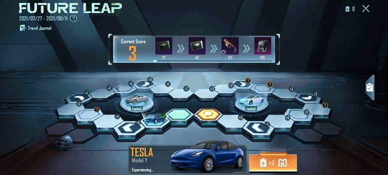 The Future leap event