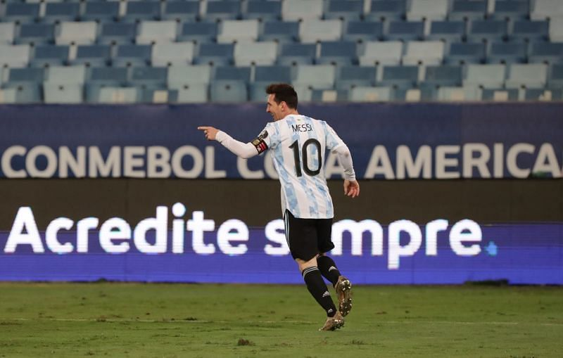 Messi could all but secure his seventh Ballon d