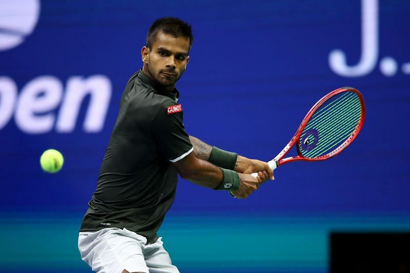 Sumit Nagal at the 2019 US Open