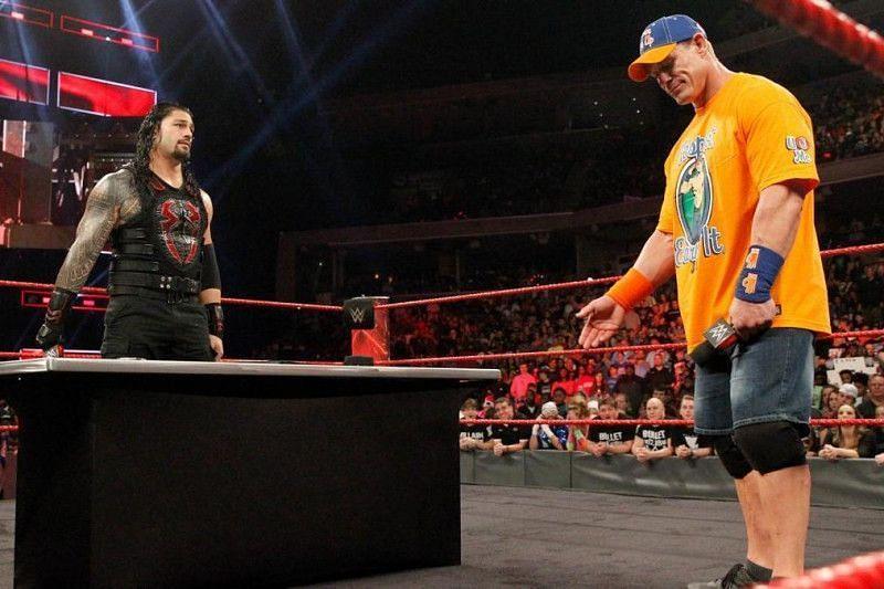 WWE ने जॉन सीना vs रोमन रेंस के प्रोमो को एक बेइज्जतियों से भरा सेगमेंट बना दिया