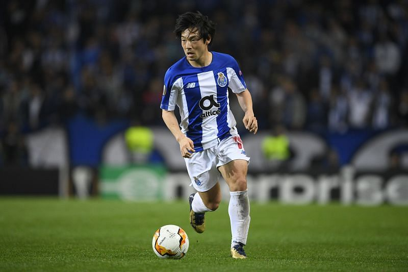 Shoya Nakajima in action for Porto
