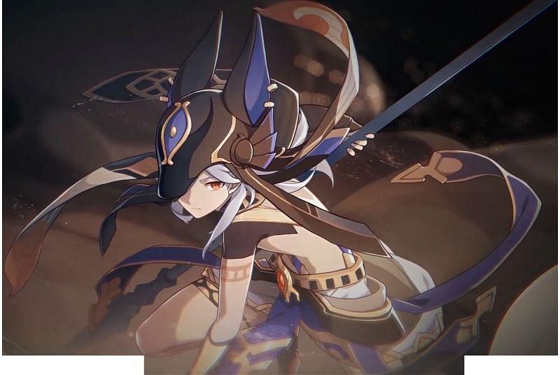 Cyno is an upcoming playable character from Sumeru (Image via Genshin Impact Wiki)