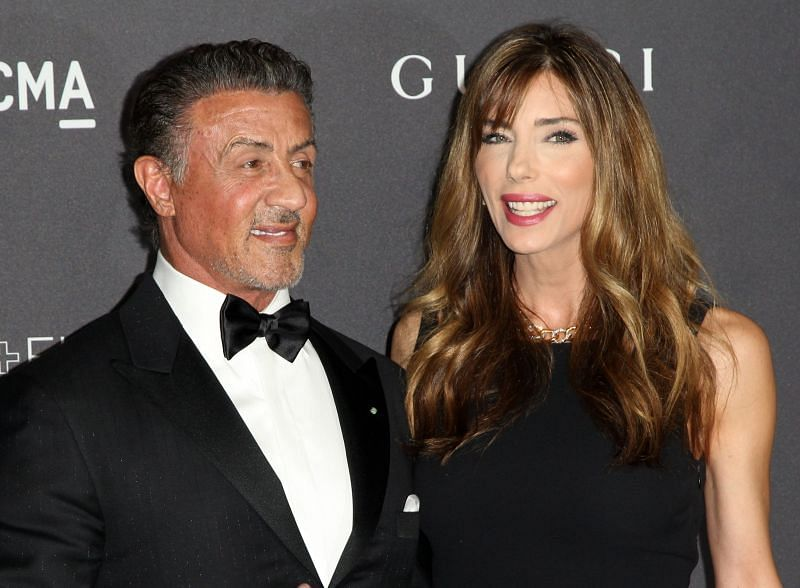 Sylvester Stallone and Jennifer Flavin, who have been together for 23 years. (Image via Closer Weekly)