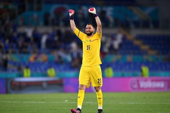 Gianluigi Donnarumma was the hero for Italy in the Euro 2020 final, saving two England penalties.
