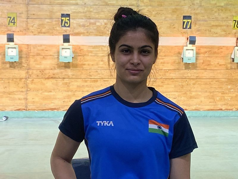 Manu Bhaker is one of the shooters who won at the 2018 Khelo India School Games