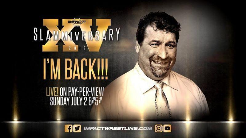 Don West returned at Slammiversary XV