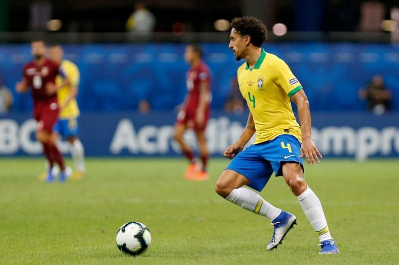 Marquinhos has led from the back for Brazil at Copa America 2021.