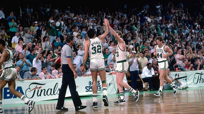 1986 Boston Celtics (Photo Credit: 1986 NBAE)