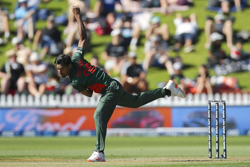 Rahman picked up 3 wickets and was the most successful bowler