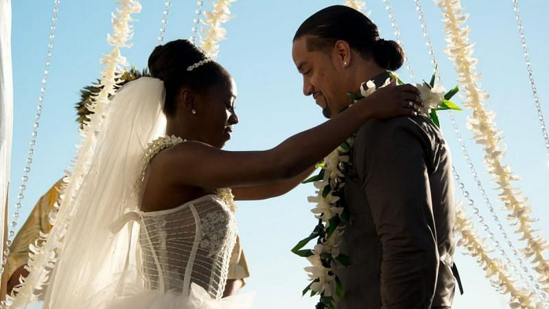 Jimmy Uso and Naomi get married in 2014