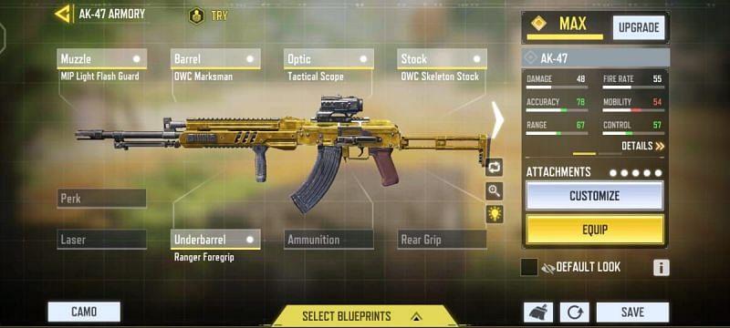 For mid-range balanced strategy (Image via Activision)