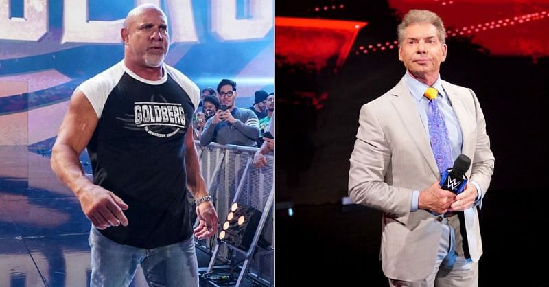 Goldberg; Vince McMahon