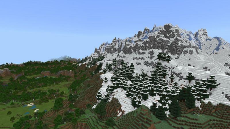 Enormi montagne (foto da Mojang)