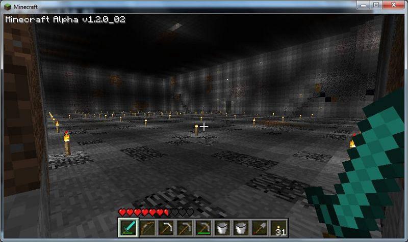Light areas (Image via Minecraft forum)