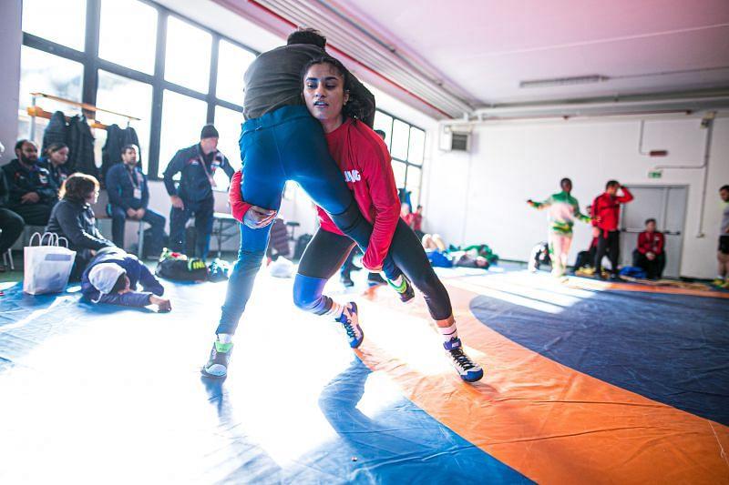 Vinesh Phogat to compete in 53 kg. (©UWW)