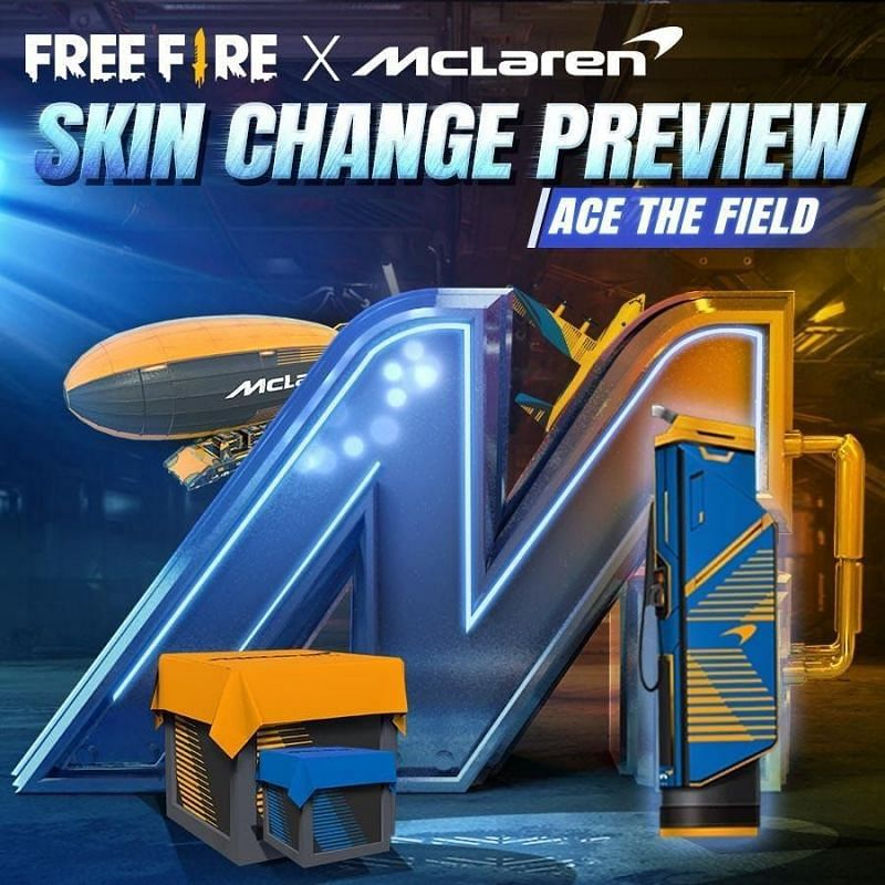 Race to Ace in Garena Free Fire in collaboration with McLaren crossover event
