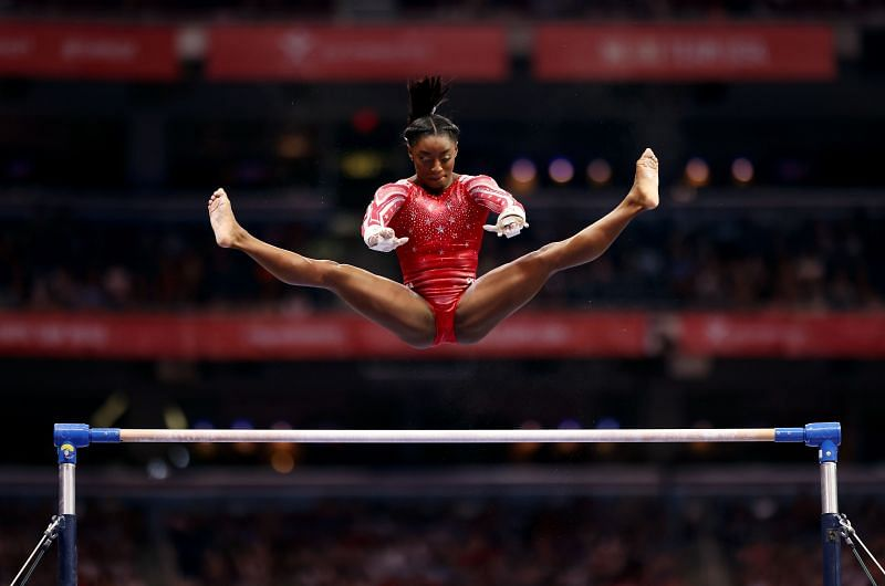 Is Simone Biles unstoppable or a human being just like others? (Photo by Jamie Squire/Getty Images)
