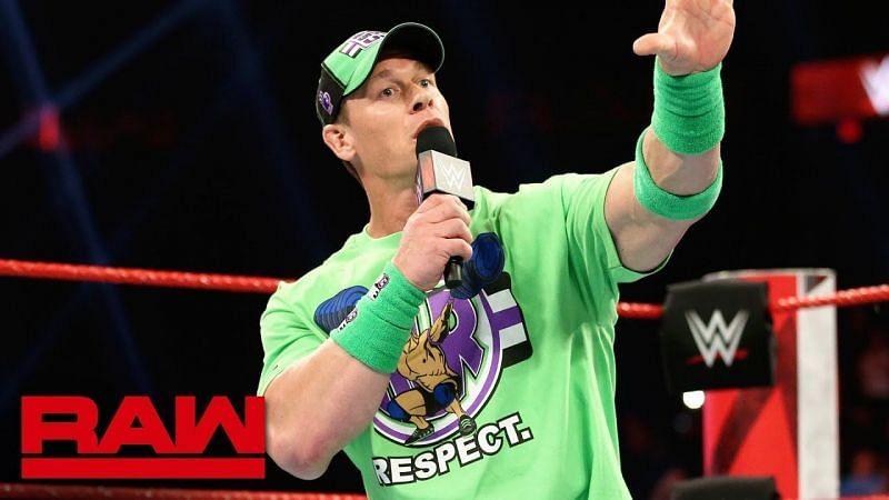 WWE Raw सुपरस्टार के मैच के चैलेंज को लेकर जॉन सीना ने दिया ये बड़ा बयान