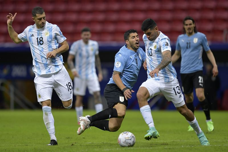 Cristian Romero linked up well with Otamendi to guard Argentina's goal