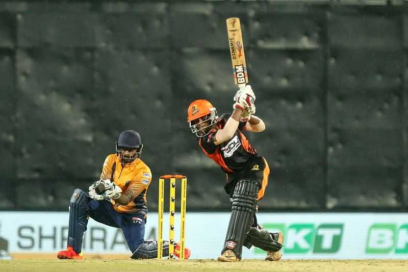 Amit Sathvik was adjudged the Man of the Match on his TNPL debut