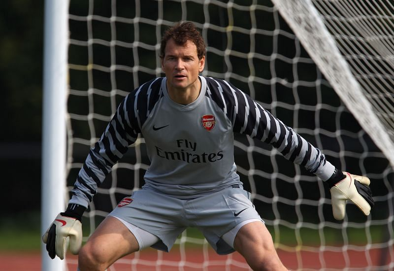 Lehmann is one of players to be present during Arsenal