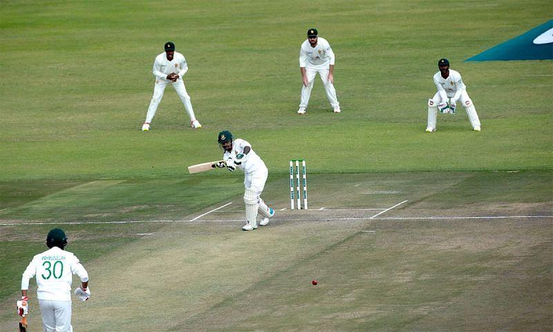लिटन दास 95 रन बनाकर तिरिपानो के शिकार बने और अपने शतक से चूक गए