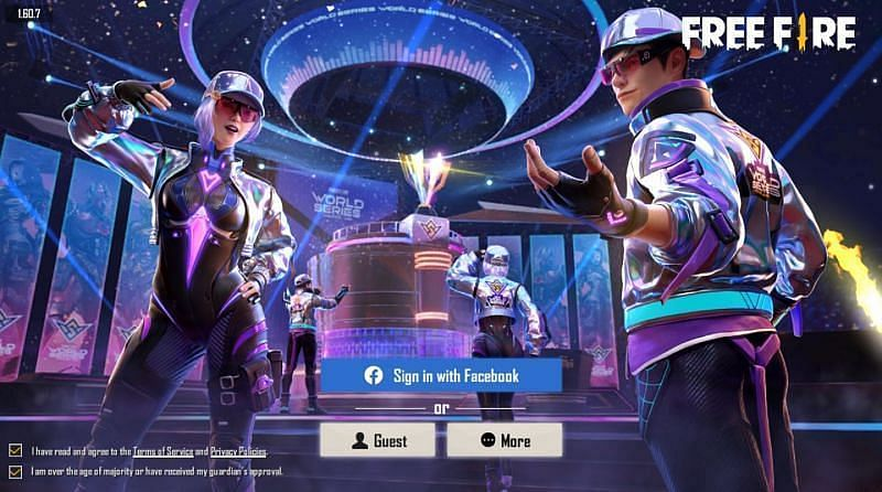 Log into Free Fire and enjoy the game