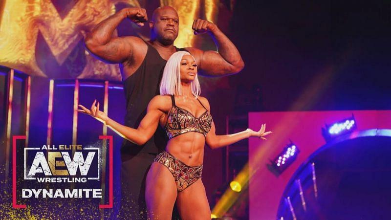 Jade Cargill debuted alongside Shaq
