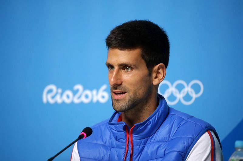 Novak Djokovic has not won an Olympic gold medal before