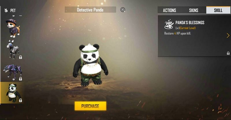 Detective Panda in Free Fire (Image via Free Fire)
