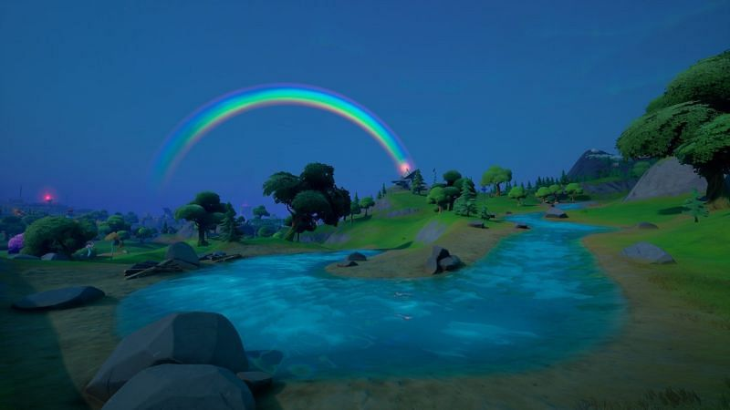 Fortnite v17.20 update rolled out several changes to the island (Image via JayKey/Twitter)