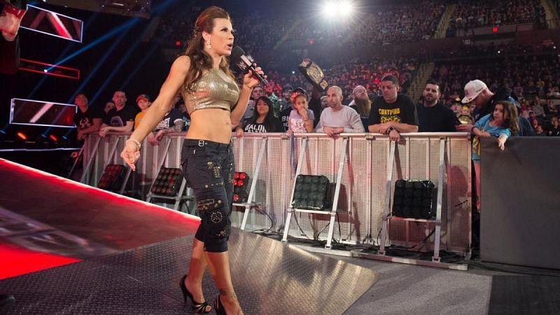 Mickie James on WWE RAW