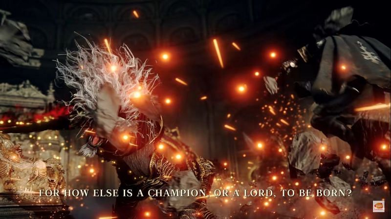 The Wolf boss probably knows the usage of Blood Magic (Image via Bandai Namco)