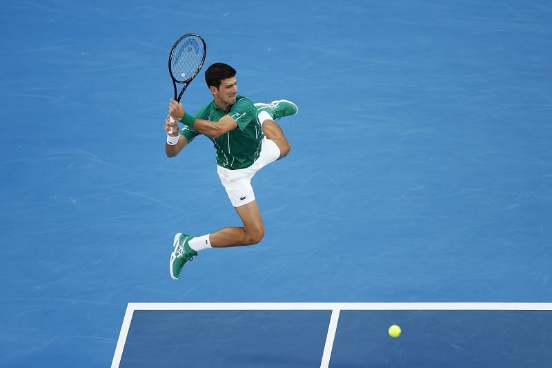 Novak Djokovic is the textbook tennis player