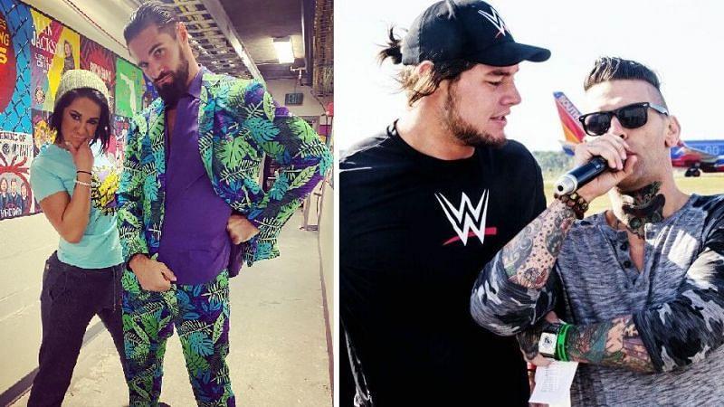 मौजूदा WWE सुपरस्टार्स जो असल जिंदगी में अच्छे दोस्त हैं