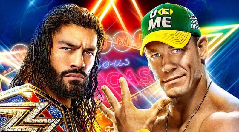 रोमन रेंस और जॉन सीना के बीच SummerSlam में मैच होगा