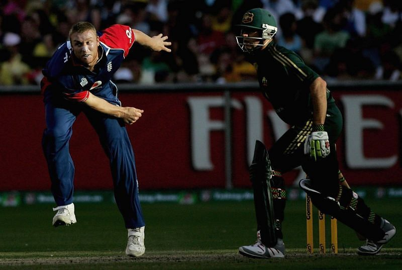 Andrew Flintoff plays as the primary all-rounder in this side.