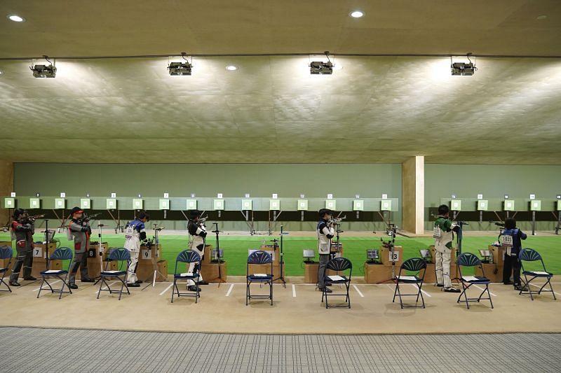 Asaka Shooting Range for the Tokyo Olympics 2020
