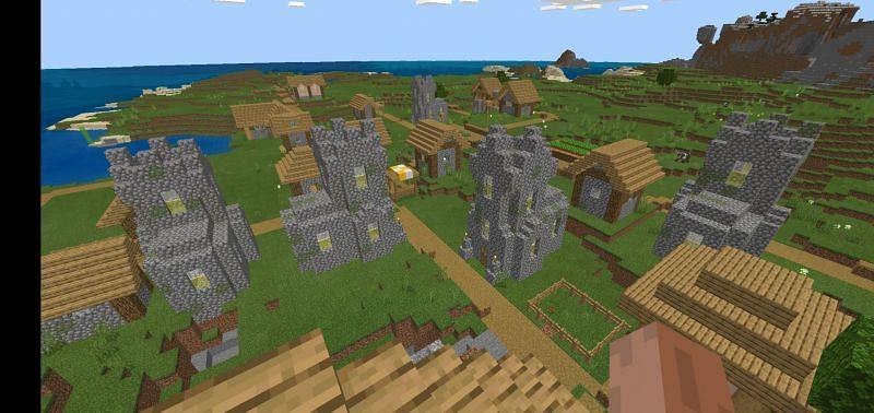 Religious village (Image via u/Weary_Habit3677 on Reddit)