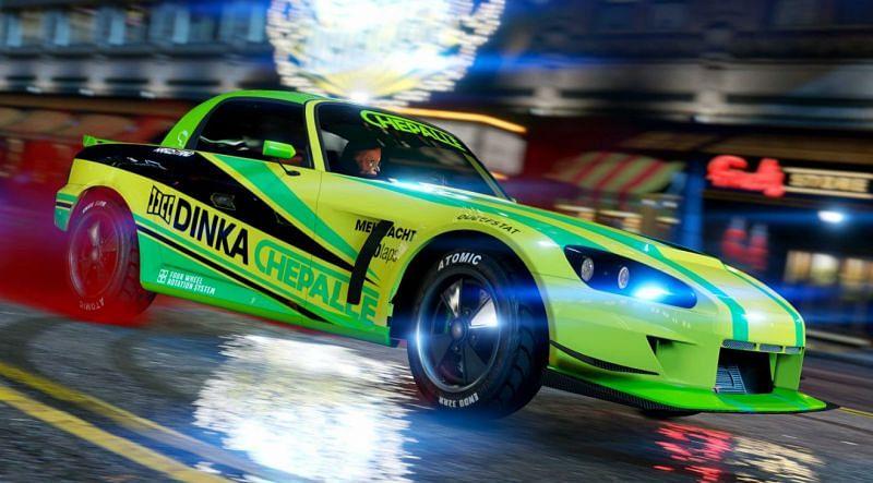 The Dinka RT3000 (Image via Rockstar Games)