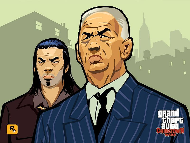 GTA Chinatown Wars is a vastly underrated title (Image via Rockstar Games)