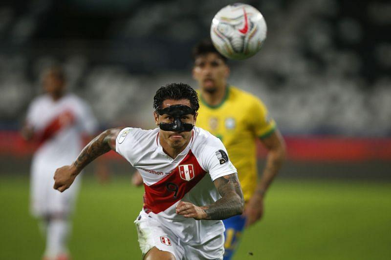 Lapadula was Peru's top scorer in Copa America 2021