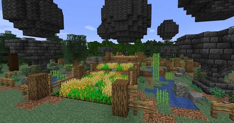 A semi-automatic wheat farm created by wattles (Image via wattles)